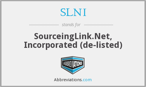 What does SLNI stand for?