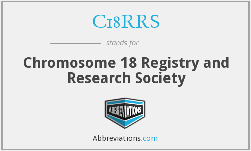 What does C18RRS stand for?