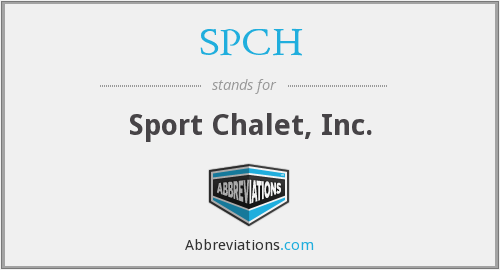 What does SPCH stand for?
