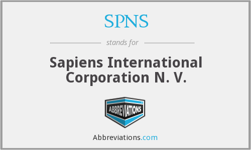 What does SPNS stand for?