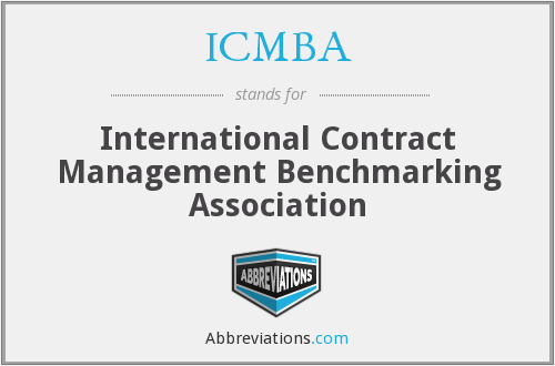 What does ICMBA stand for?