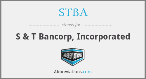 What does STBA stand for?