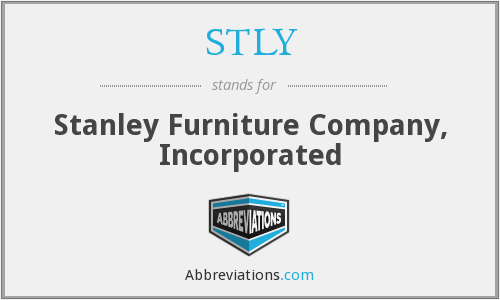 What does STLY stand for?