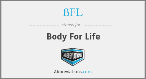 What does BFL stand for?