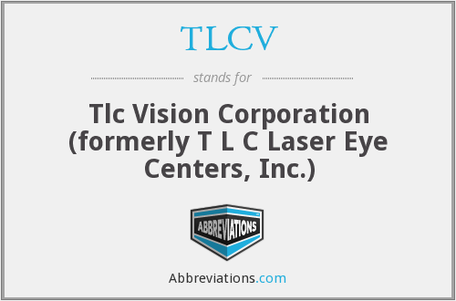 What does TLCV stand for?