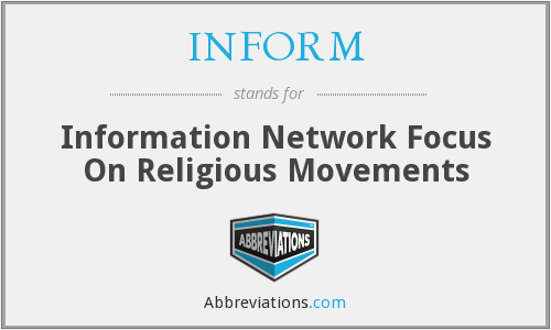 What does INFORM stand for?