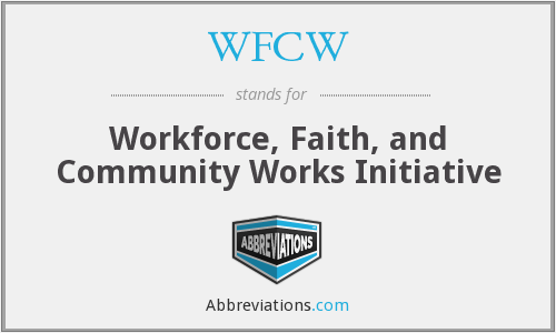 What does WFCW stand for?