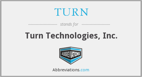 What does TURN stand for?