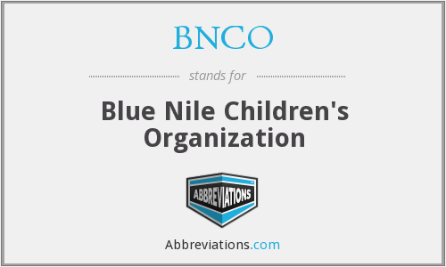 What does BNCO stand for?