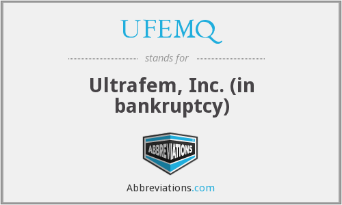 What does UFEMQ stand for?