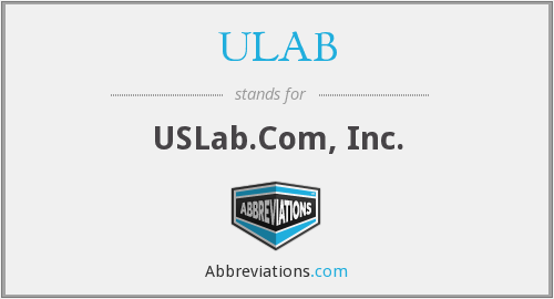 What does ULAB stand for?