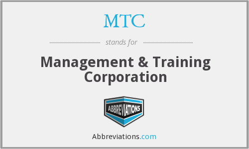 What does MTC stand for?