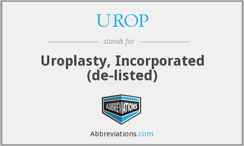 What does UROP stand for?