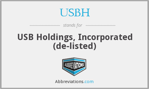 What does USBH stand for?