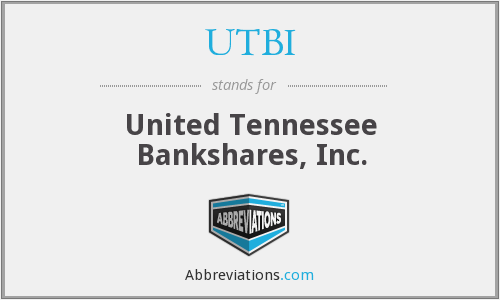What does UTBI stand for?