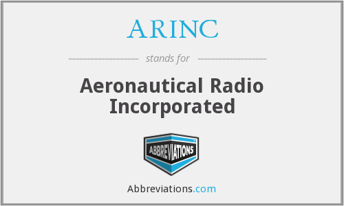 What does ARINC stand for?
