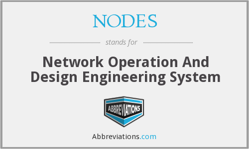 What does NODES stand for?
