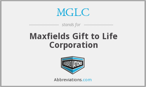 What does MGLC stand for?