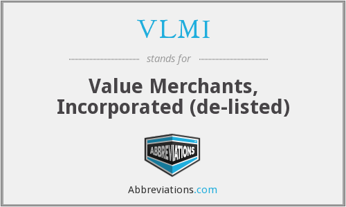 What does VLMI stand for?