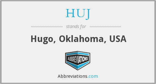 What does HUJ stand for?