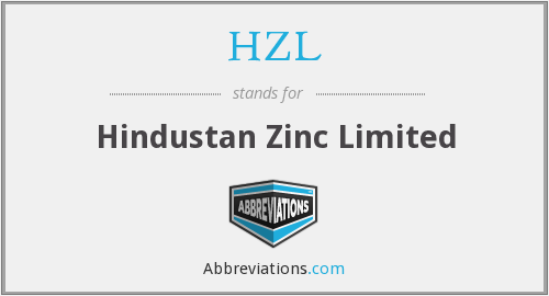 What does HZL stand for?