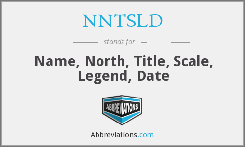 What does NNTSLD stand for?