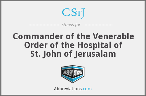 What does CSTJ stand for?
