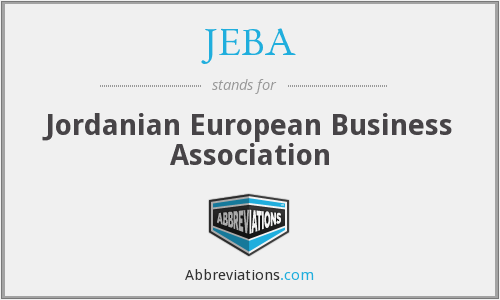 What does JEBA stand for?