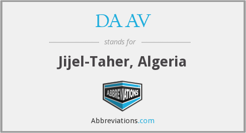 What does DAAV stand for?