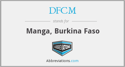 What does DFCM stand for?