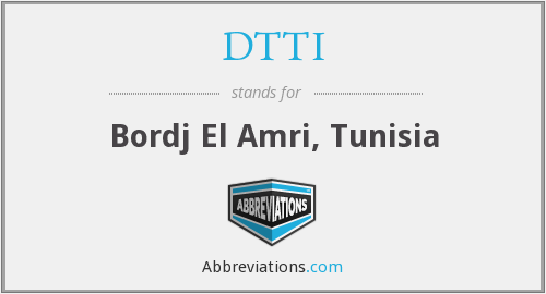 What does DTTI stand for?