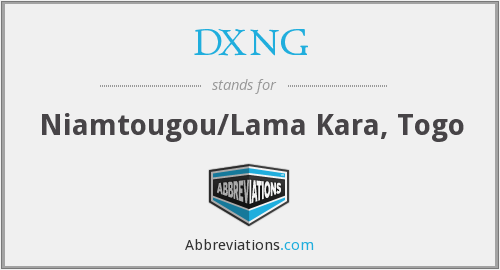 What does DXNG stand for?