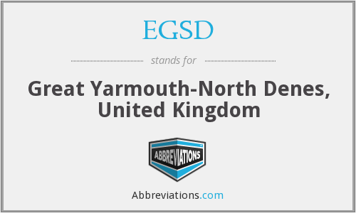 What does EGSD stand for?