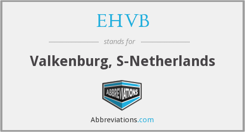 What does EHVB stand for?