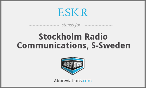 What does ESKR stand for?
