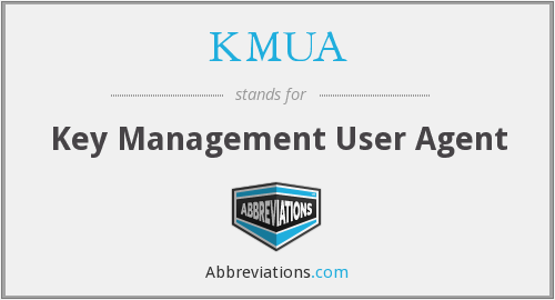 What does KMUA stand for?