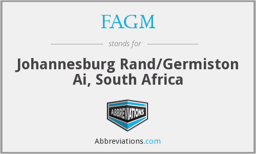 What does FAGM stand for?