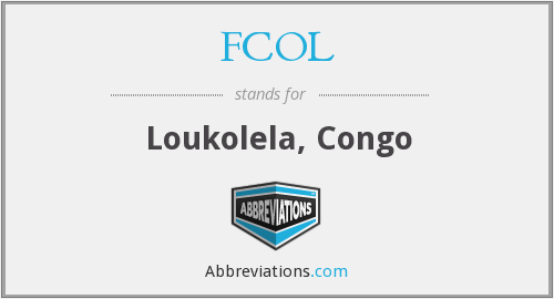 What does FCOL stand for?