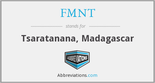 What does FMNT stand for?
