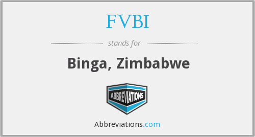 What does FVBI stand for?