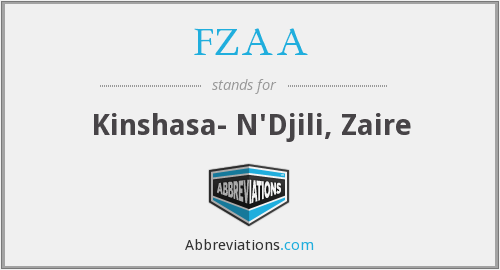 What does FZAA stand for?