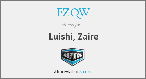 What does FZQW stand for?