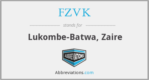 What does FZVK stand for?