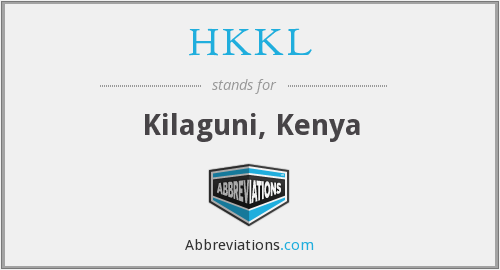 What does HKKL stand for?
