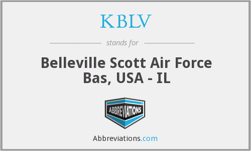 What does KBLV stand for?