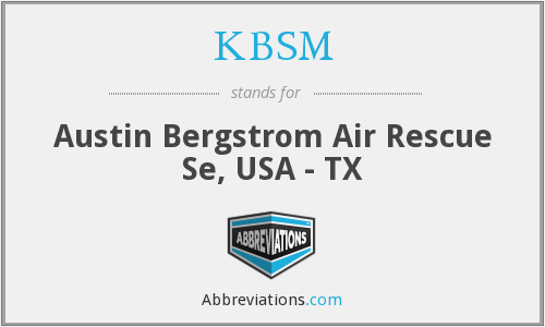 What does KBSM stand for?