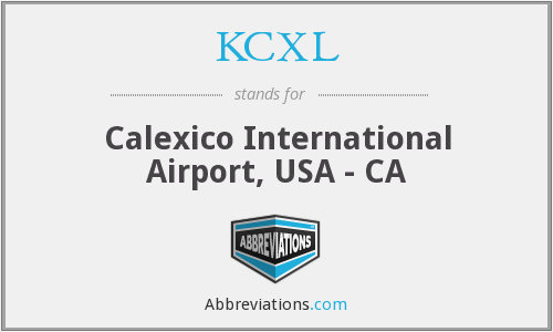 What does KCXL stand for?