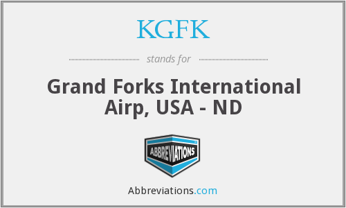 What does KGFK stand for?