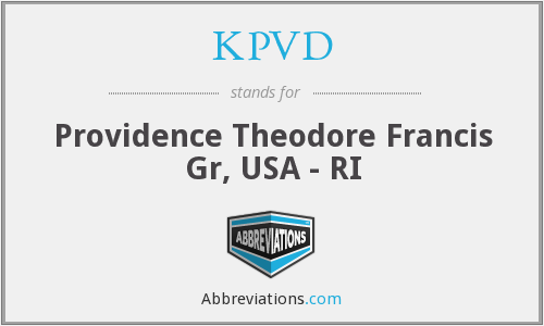 What does KPVD stand for?