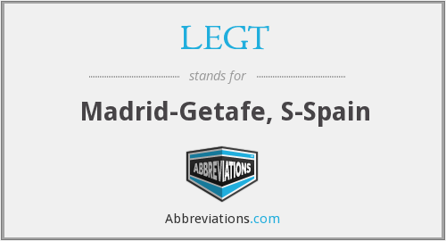What does LEGT stand for?
